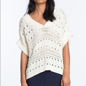 Plenty by Tracy Reese Chunky Sweater Seashell knit